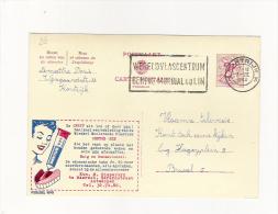 Publibel Obl. N° 1690  (Colle Pour Dentier  DENTUR-EZE)  Obl: Kortrijk   01/03/1960 - Publibels
