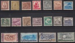 India Used 1965 -1975 Definitive / Definitives, Simplified Complete Set, 18v, (Sample Image) - Oblitérés