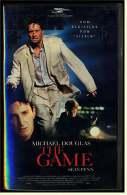 VHS Video  ,  The Game  -  Mit : Michael Douglas, Sean Penn, Armin Mueller-Stahl  -  Von 1997 - Action & Abenteuer
