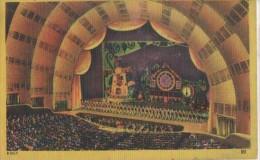 RADIO CITY MUSIC HALL AUDITURIUM - NY - New York