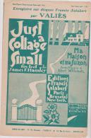 (GG) Ma Maison Et Ma Suzon (just A Cottage Small) VALIES , Paroles : ALBERT WILLEMETZ ; Musique : JAMES F HANLEY - Partitions Musicales Anciennes