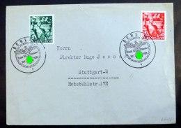 """""""Berlin Zum 30. Januar 30.1.1938"""", 2mal Klar Abgeschlagen Auf Umschlag Mit Mi.Nr. 660/61. - Deutschland"""