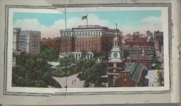 . CARNET COMPORTANT 17 CARTES - Philadelphia