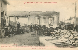 88 SAINT DIE PARTIE D'USINE INCENDIEE TISSAGE A. LEVY - Saint Die
