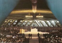 65 - LOURDES - La Basilique Souterraine St-Pie X - Ed. Poublanc - Lourdes