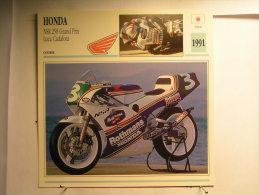 Lot De 4 Fiches Moto - Japon - Honda - Voir Description - Unclassified
