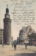 Halle - Leipzigerturm (animation) - Halle (Saale)