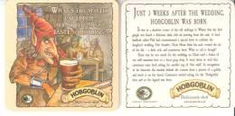 Sous-Bock-Carton- Bière Anglaise- Hobgoblin Recto-Verso - Sous-bocks