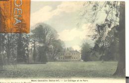 Mont-Cauvaire - Le Collège Et Le Parc , Bon état ( Voir Scan ) - Altri Comuni