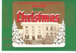 Etiquette Ancienne De La Brasserie Du Bocq à Purnode (Yvoir S/Meuse)-Regal Christmas-Bière De Noël-Top Quality - Cerveza