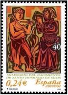 ESPAÑA 2001 - MILENARIO DEL MONASTERIO DE SANTO DOMINGO DE SILOS  - Edifil Nº 3817 - YVERT 3388 - 2001-10 Neufs