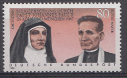 DEUTSCHLAND Mi.1352 Seligsprechung Edith Stein Und... 1988  MNH / POSTFRIS / NEUF SANS CHARNIERE - Neufs