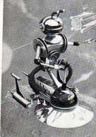Cosmos Le Robot Prime Hors  Concours Salon Internationl De L'Invention Monaco 1960 - Cartoline