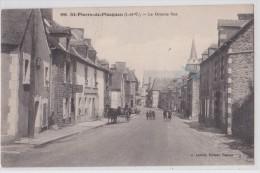 Saint-Pierre-de-Plesguen - La Grande Rue - Debos Tailleur - Lamiré 988 - Autres Communes