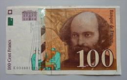 100 Francs Cézanne  1998 - 1992-2000 Last Series