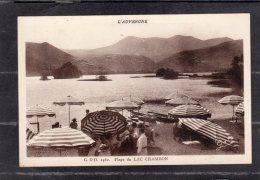 43985    Francia,    Plage  Du  Lac  Chambon,  NV - France