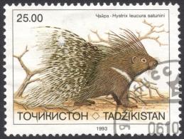 Tajikistan, 25 R. 1993, Sc # 18, Mi # 25, Used - Tajikistan