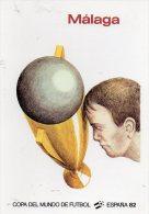 MALAGA -  COPA  DEL  MUNDO  DE  FUTBOL -  ESPANA 82 -  Collection Images Des 15 Affiches Officielles - Calcio