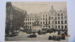 AK Düsseldorf, Marktplatz Mit Jan-Wellem-Denkmal Vom 31.8.1919 - Düsseldorf