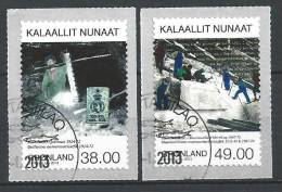 Groënland 2013, N°613/614 Oblitérés, Mines - Greenland
