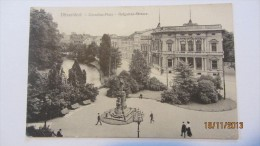 AK Düsseldorf, Cornelius-Platz Mit Hofgarten-Strasse Vom 26.3.1911 - Duesseldorf