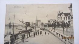 AK Düsseldorf, Rheinwerft Vom 4.10.1903 - Düsseldorf