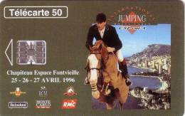 MONACO JUMPING RADIO TMC BIERE HEINEKEN CHEVAL HORSE UT  SUPERBE - Monaco
