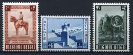 16495) BELGIEN # 989-91 Postfrisch Aus 1954, 60.- € - Bélgica
