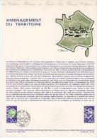 """1978 """" AMENAGEMENT DU TERRITOIRE """" Sur Doc Officiel 1°Jour. N° YT 1995. Parfait état + Prix Degressif ! DPO - Postdokumente"""