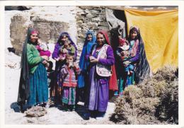 ASIE CENTRALE,ASIA,AFGHANISTAN ,prés Chine,pakistan,carte Photo,famille,femme,enfan T,courageuse,village - Afghanistan