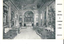 Interno Della Chiesa Di S. Bartolomeo E Marino In Rimini  Italy - Rimini