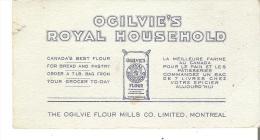 Ogilvie's Royal Household  Canada's Best Flour Olgilvie Flour Mills Co. Limited, Montreal - Food