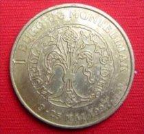 1 Euro Temporaire Precurseur De MONTELIMAR 1997, RRRR, UNC, Bronce, Nr. 442 - Euro Der Städte