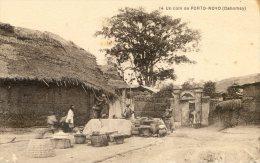 Dahomey - Un Coin De Porto Novo - Dahomey