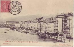 83 TOULON - Vue Générale Du Quai Cronstadt - D12 103 - Toulon