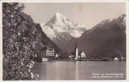 Switzerland Fluelen Am Vierwaldstaettersee Und Der Bristenstock Real Photo - UR Uri