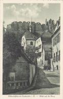 Germany Lindenfels Blick Auf Die Burg
