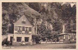 Germany Ruebeland-Harz Hoehlenrestaurant mit Felsengrotte Real P