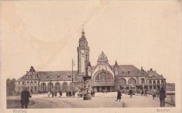 Germany Krefeld Bahnhof Train Station