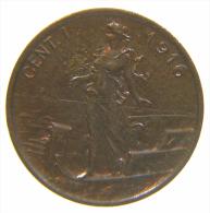 ITALIA 1 CENTESIMO 1916 DA ROTOLINO - 1861-1946 : Regno