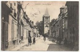 61 - LONGNY - Rue De L'Eglise - Edition Rigot - Longny Au Perche