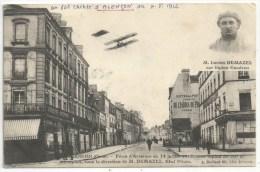 61 - ALENÇON - Fêtes D'Aviation Du 14 Juillet 1912 - Lucien DEMAZEL Sur Biplan Caudron - Alencon