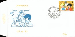 C.O.B. 2707. Philatélie De La Jeunesse. Gil Et Jo, Jommeke.dessin De Jef Nijs. - 1991-00