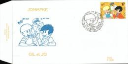 C.O.B. 2707. Philatélie De La Jeunesse. Gil Et Jo, Jommeke.dessin De Jef Nijs. - FDC