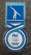Pin Gymnastique Gymnastics Jeux Olympiques Londres London 2012 Olympic Games P & G - Gymnastik