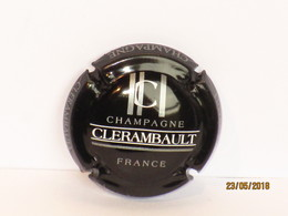 Capsules Ou Plaques De Muselet CHAMPAGNE CLERAMBAULT - Collections