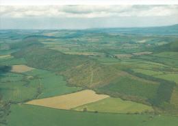 Shropshire Postcard - Wenlock Edge From The Air      LC2555 - Shropshire