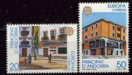 Andorre Espagnol** N° 204/205 - Europa - Année 1990 - Andorre Espagnol