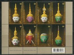 Thaï Conservation Heritage (Masques De Théatre Thaïlandais)  8 T-p Neufs ** De THAÏLANDE - Disfraces