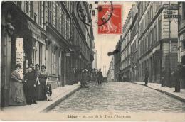 Carte Postale Ancienne De : PARIS -LIGER-Rue De La Tour D'Auvergne - Arrondissement: 09
